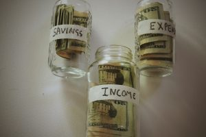 Income - Expense = Saving